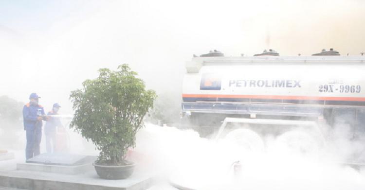 Petrolimex Lào Cai: Đảm bảo kỹ năng phòng cháy chữa cháy và cứu nạn cứu hộ